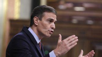 Il premier della Spagna, Pedro Sanchez (Getty)
