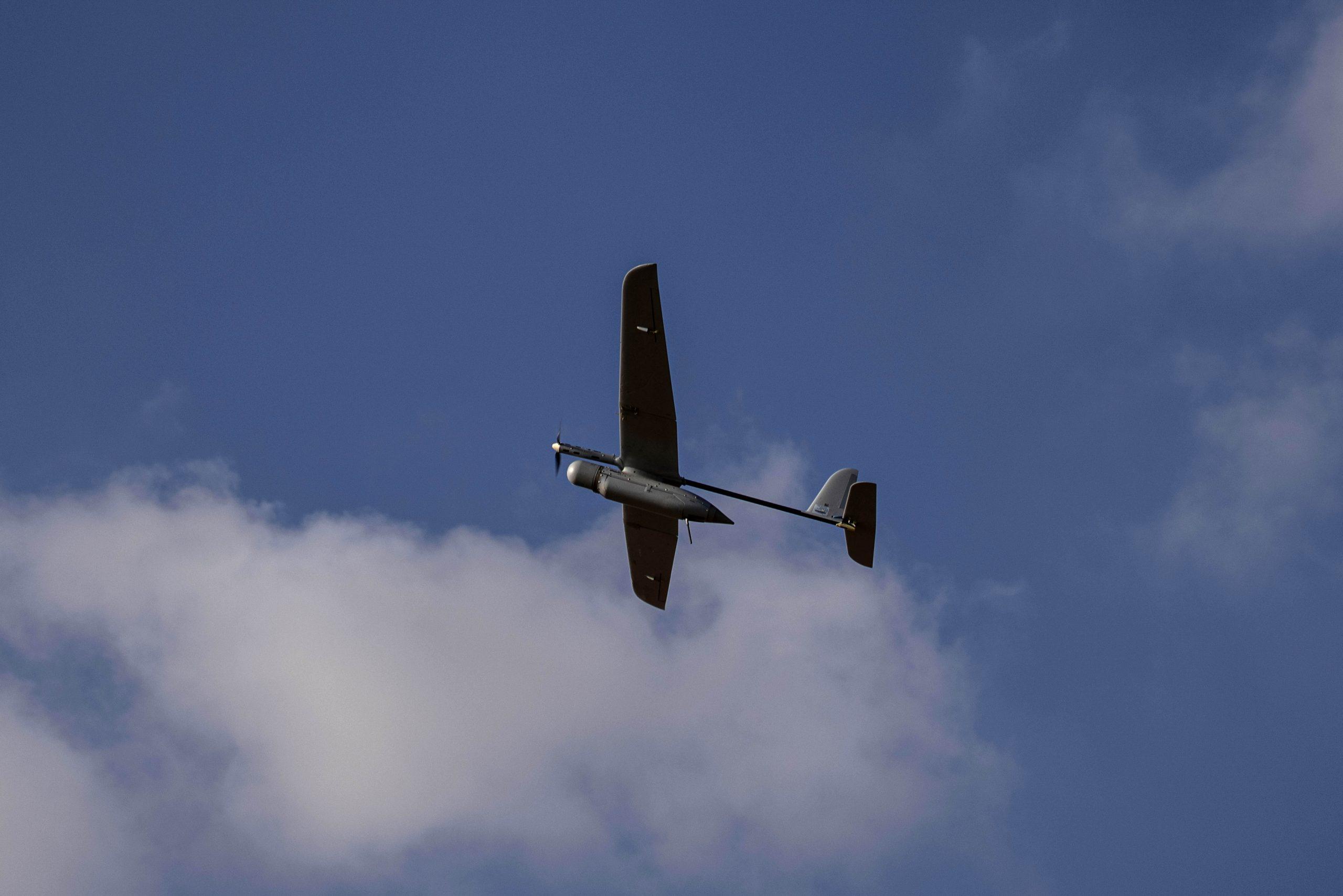 Drone israeliano (La Presse)
