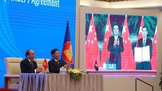 Accordo commerciale Cina Asean Rcep (La Presse)