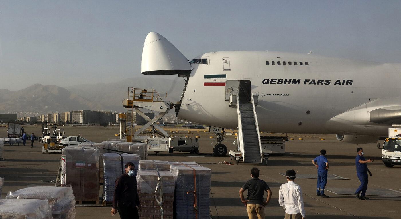 Perché un cargo iraniano è volato negli Emirati Arabi Uniti
