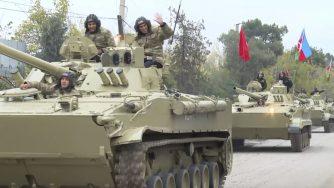 Azeri entrano nel Nagorno Karabakh (La Presse)