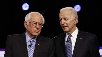 Bernie Sanders e Joe Biden (La Presse)