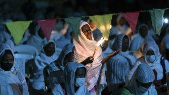 Una Chiesa africana (LaPresse)