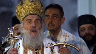 Patriarca ortodosso in Serbia (La Presse)