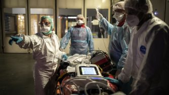 Coronavirus in Francia (La PressE)