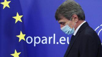 David Sassoli Europarlamento (La Presse)