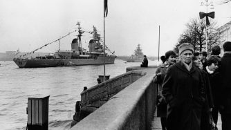 Foto Marina sovietica (La Presse)