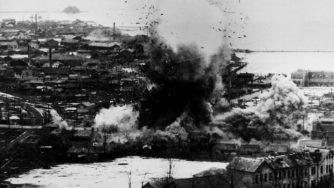 Guerra di Corea, esplosione (La Presse)