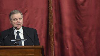 Il presidente della Banca d'Italia Ignazio Visco (LaPresse)
