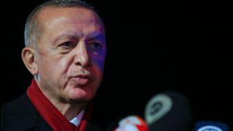 Il presidente turco Recep Erdogan visita Cipro (Getty)