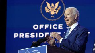 Joe Biden al lavoro (La Presse)