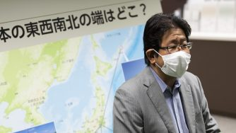 Kohei Saito, isole contese, Giappone (La Presse)