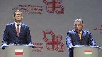 Mateusz Morawiecki e Viktor Orban (La Presse)