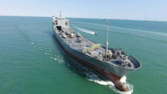 Iran, nuova nave dei Pasdaran (La Presse)