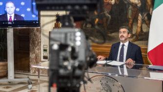 Riccardo Fraccaro accordi Italia Nasa spazio La Presse)