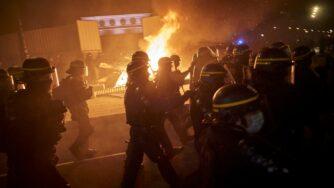Scontri a Parigi per la legge sulla sicurezza(Getty)