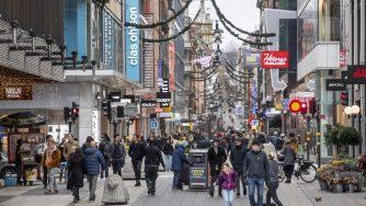 Svezia, Drottninggatan a Stoccolma (La Presse)