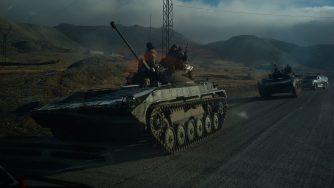 Truppe armene lasciano il Nagorno Karabakh (Getty)