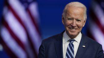 Usa, il presidente eletto Joe Biden parla da Wilmington (La Presse)