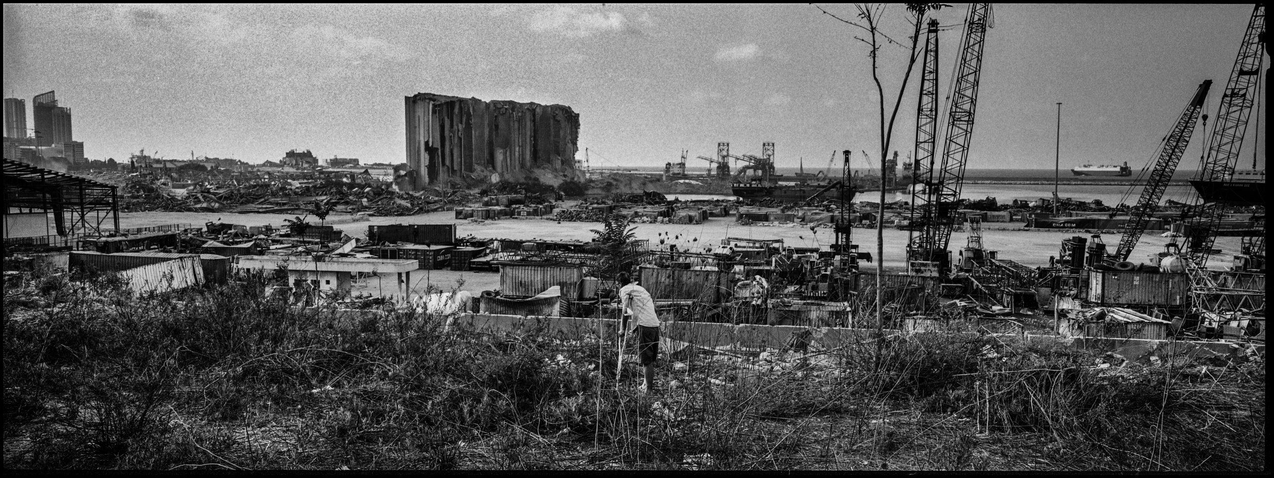 Il porto di Beirut (Ivo Saglietti)