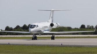 Aereo Gulfstream La Presse)
