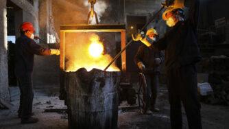 Acciaieria in Cina (La Presse)