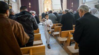 I combattenti cristiani in Siria (La Presse)