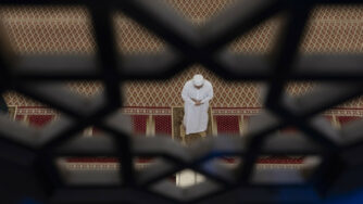 Malesia, islamico in preghiera (La Presse)