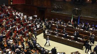 Consiglio europeo, le comunicazioni di Giuseppe Conte alla Camera dei Deputati (La Presse)