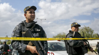 Attentato a Tunisi (La Presse)