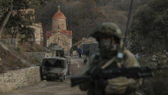 Russia peacekeeper in Nagorno (La Presse)