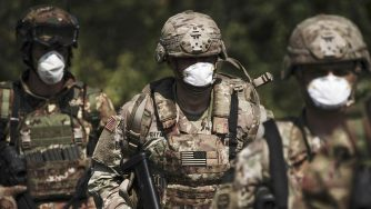 Soldati americani esercitazioni (La Presse)