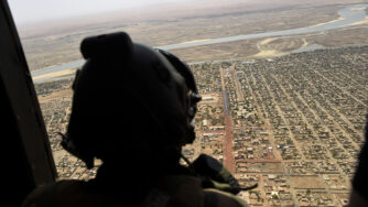Soldato francese in Sahel (La Presse)