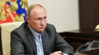Vladirmir Putin conferenza we are together (La Presse)