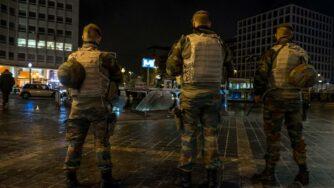 Bruxelles citta' fantasma e deserta (La Presse)