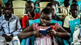 Sudan, bambini cristiani (La Presse)