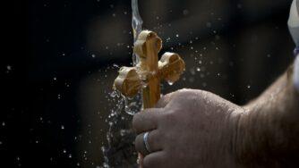 Battesimo a Qasr el Yahud (La Presse)