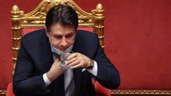 Comunicazioni del Presidente del Consiglio Giuseppe Conte (La Presse)