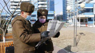 Corea del Nord, Pyongyang soldati (La Presse)