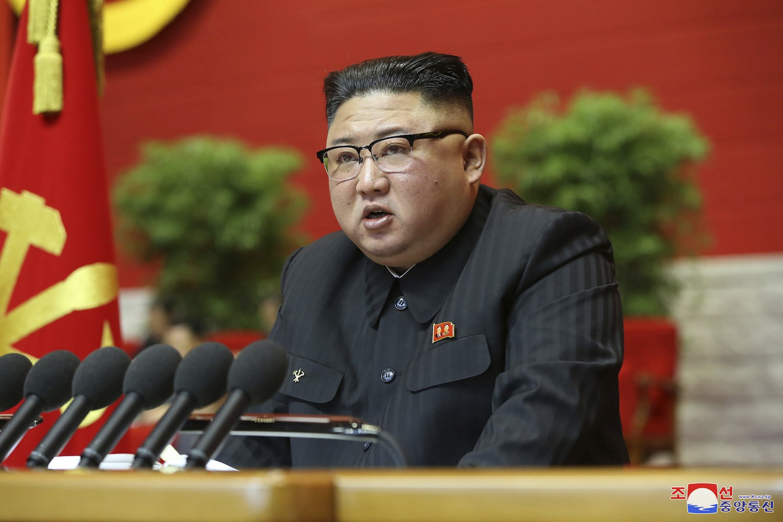 Corea del Nord, il leader Kim Jong Un a un congresso del partito al governo a Pyongyang (La Presse)