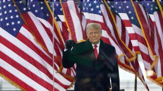 Donald Trump comizio Washington (La Presse)