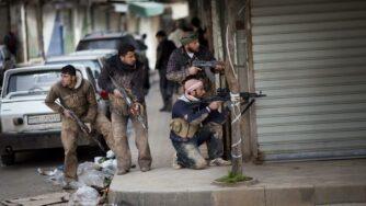 Siria, Idlib miliziani (La Presse)