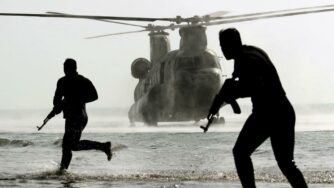 Iran esercitazioni Golfo di Oman (La Presse)