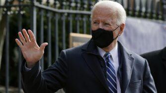 Joe Biden partecipa alla messa (La Presse)