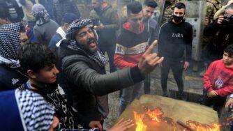 Libano, protesta contro il deterioramento delle condizioni di vita a Tripoli (La Presse)