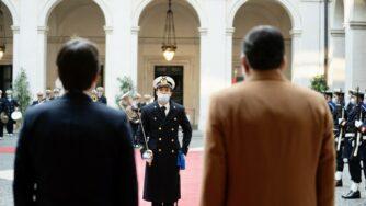 Libia, Sarraj a Palazzo Chigi da Conte (La Presse)