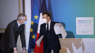 Emmanuel Macrone Bruno Le Maire