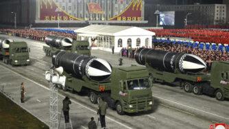 Corea del Nord, grande parata militare a chiusura congresso del Partito dei lavoratori