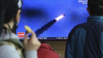 Missile balistico Corea (la Presse)