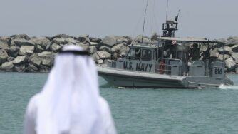 Nave Usa Golfo Persico (La Presse)